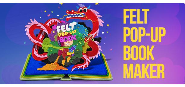 Felt POP-Up Book Maker