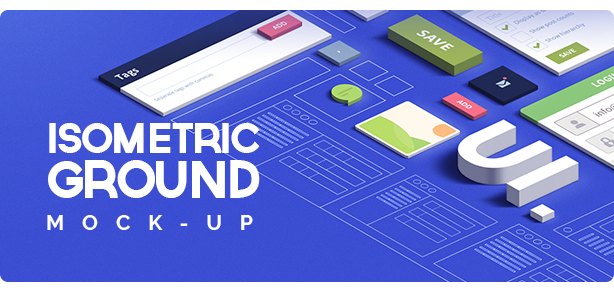 Isometric Ground Mock-UP Actions
